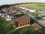 Коттеджный поселок «Брусландия» Полностью построен и введен